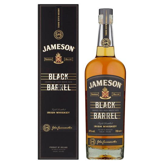 Jameson Black Barrel Irish Whiskey 70cl