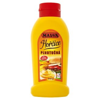 Malva Full-Fat Mustard 440g