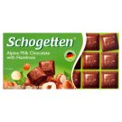 Schogetten Alpine Milk Chocolate with Hazelnuts 100g