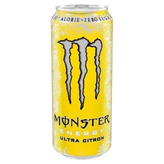 Monster Energy Ultra citron sycený energetický nápoj 500ml
