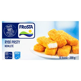 FRoSTA Fish Fingers Ungrounded 10 pcs 300g
