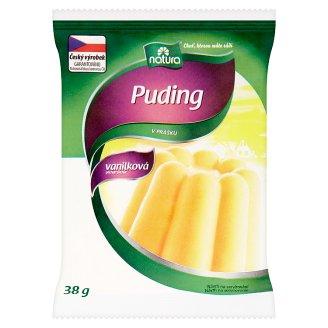 Natura Puding v prášku vanilková příchuť 38g