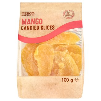 Tesco Mango Candied Slices 100g