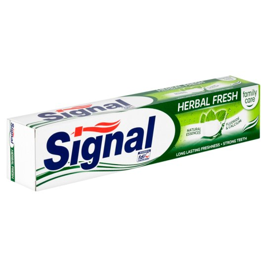 image 1 of Signal Family Care Herbal Fresh Toothpaste 75ml