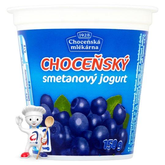 Choceňská Mlékárna Choceňský Creamy Yoghurt Blueberry 150g