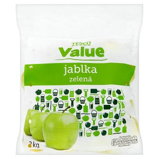 Tesco Value Green Apples 2kg