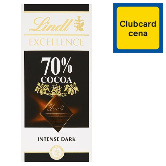 Lindt Excellence Extra hořká čokoláda 70% 100g