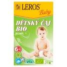 Leros Baby Organic Herbal Tea for Children 20 x 2g