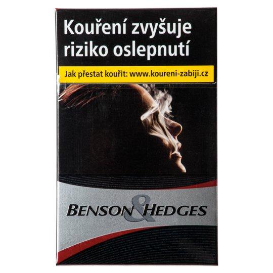 Benson & Hedges Black Slide Cigarettes with Filter 20 pcs