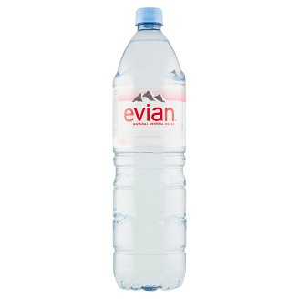 Evian Non-Carbonated Natural Mineral Water 1.5L
