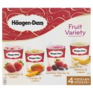 Häagen-Dazs Fruit Variety Ice Cream 4 x 100ml