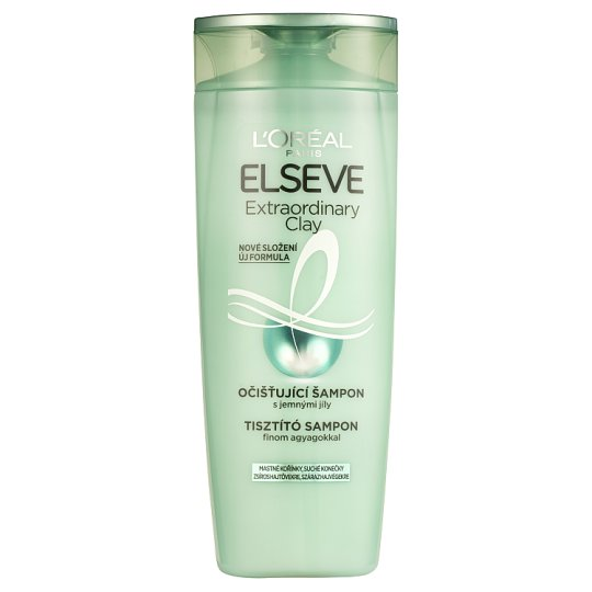 L'Oréal Paris Elseve Extraordinary Clay očisťující šampon 400ml