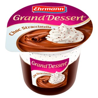 Ehrmann Grand Dessert Chocolate Stracciatella 190g