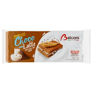 Balconi Choco & Latte with Milk Filling 10 x 30g