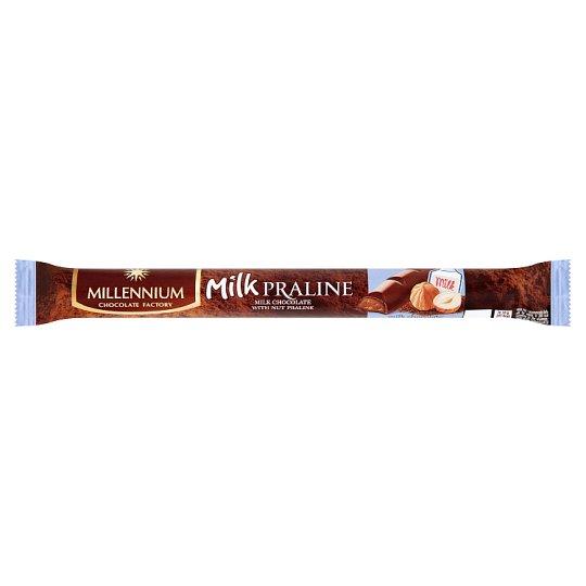 Millennium Milk Praline Milk Chocolate with Cocoa Nut Filling 38g