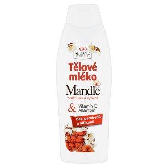 Bione Cosmetics Bio Mandle zvláčňující a vyživné tělové mléko 500ml
