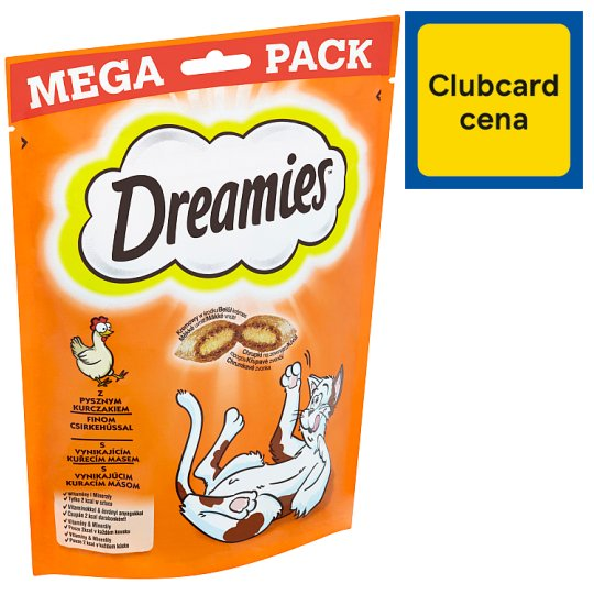 Dreamies with Excellent Chicken Meat 180g