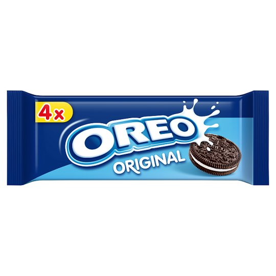 Oreo Original Cocoa Biscuits with Filling with Vanilla Flavour 44g