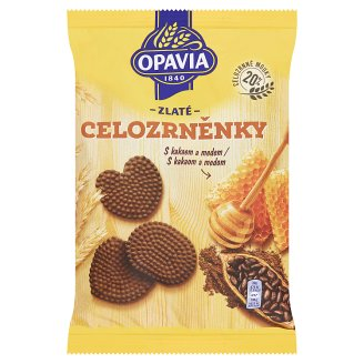Opavia Zlaté Cookies with Cocoa and Honey 180g