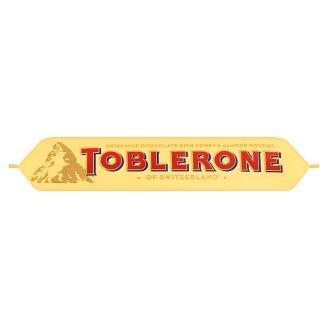Toblerone Švýcarská mléčná čokoláda s medovo-mandlovým nugátem 35g