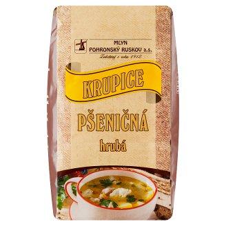 Mlyn Pohronský Ruskov Wheat Semolina Gross 1kg