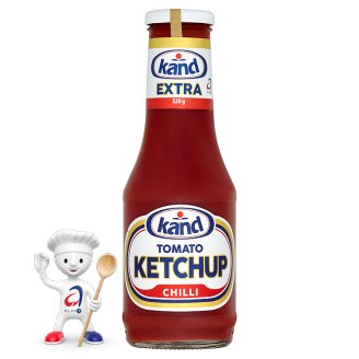 Kand Tomato Ketchup Extra Chilli 520g