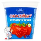 Choceňská Mlékárna Choceňský Cream Yoghurt Strawberry 150g