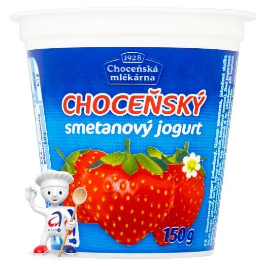 Choceňská Mlékárna Choceňský Creamy Yoghurt Strawberry 150g