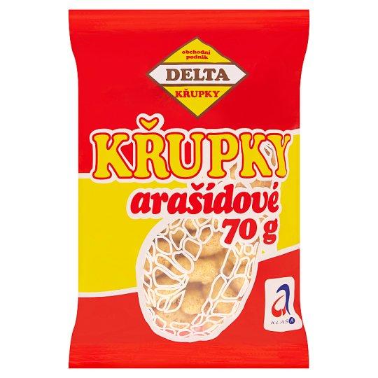 Delta Křupky arašídové 70g