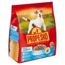 Propesko Complete Food for Adult Dogs of Small and Medium Breeds with Poultry and Beef 1kg