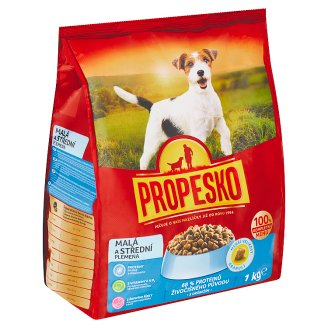 Propesko Small and Medium Breeds with Poultry 1kg