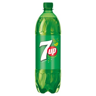 7UP Soft Drink with Lemon-Lime Flavor 1L