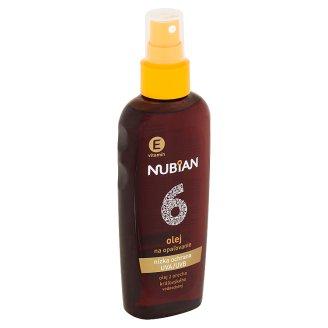 Nubian Olej na opalování SPF 6 150ml