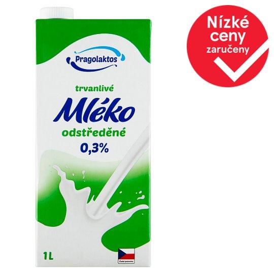 Pragolaktos Trvanlivé mléko odtučněné 0,5% 1l