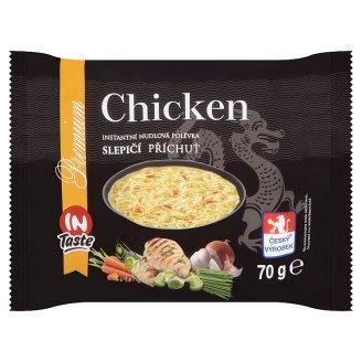 InTaste Premium Instantní nudlová polévka slepičí příchuť 70g