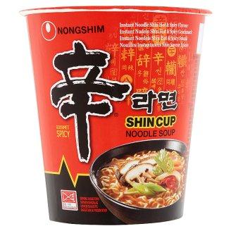 Nongshim Instantní nudlová polévka Shin Cup pálivá 68g