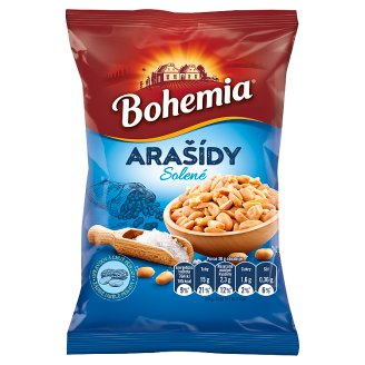 Bohemia Salted Peanuts 100g