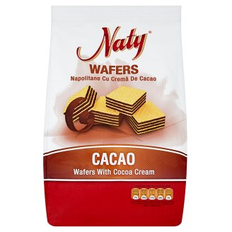 Naty Wafers with Cocoa Cream 180g