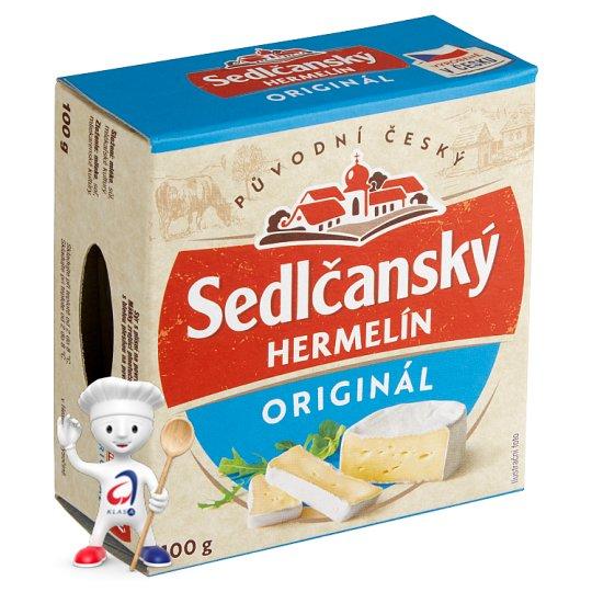 Sedlčanský Camembert Original Czech 100g
