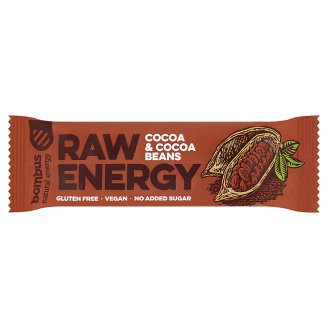 Bombus Raw Energy Cocoa & Cocoa Beans 50g