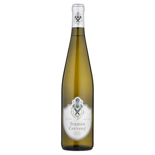 Vinařství pánů z Lipé Amethyst Collection Tramín červený bílé polosuché víno 0,75l
