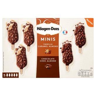 Häagen-Dazs Minis smetanová zmrzlina s belgickou mléčnou čokoládou 5 ks 200ml