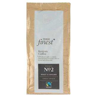 Tesco Finest Kenyan pražená mletá káva 227g