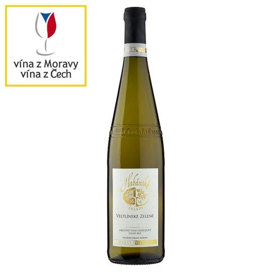 Habánské Sklepy Grüner Veltliner Dry White Wine 0.75L