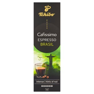 Tchibo Cafissimo Espresso Brasil pražená mletá káva 10 x 8g