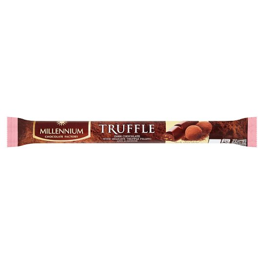 Millennium Truffle Dark Chocolate with Cocoa and Almond Filling 38g