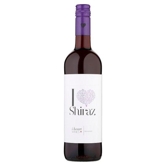 I Heart Shiraz červené víno 75cl
