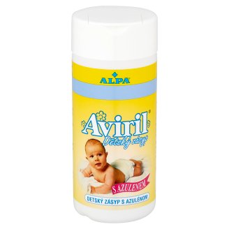 Alpa Aviril Baby Powder with Azulene 100g