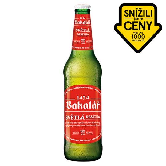 Bakalář Ten Degree Light Beer 0.5L