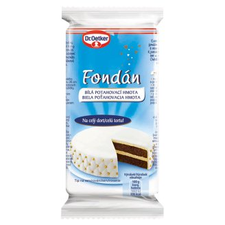 Dr. Oetker Fudge White Coating Mass 200g